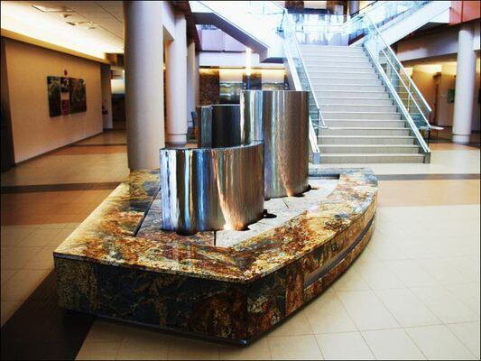 sentara-lobby-lighting
